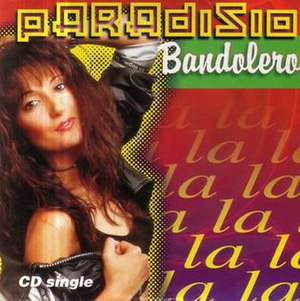 Bandolero (song) - Image: Paradisio Bandolero single