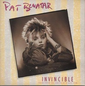Invincible (Pat Benatar song) - Image: Pat Benatar Invincible