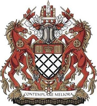 Order of Canada - The coat of arms of David Johnston, former Governor General of Canada and Chancellor and Principal Companion of the Order of Canada, displaying the order's motto and insignia