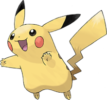 BOYS POKEMON PIKACHU OFFICIAL CHARACTER