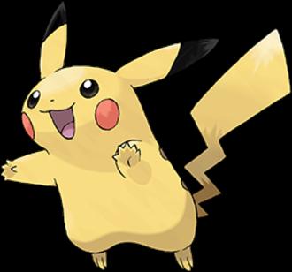 Pikachu - Image: Pokémon Pikachu art