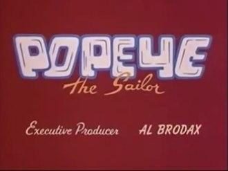 Popeye the Sailor (1960s TV series) - Image: Popeye 1960