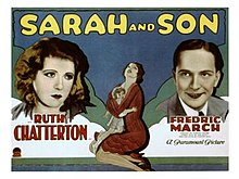 Poster of the movie Sarah and Son.jpg