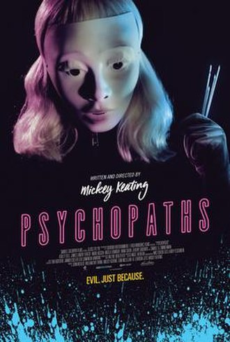 Psychopaths (film) - Theatrical release poster