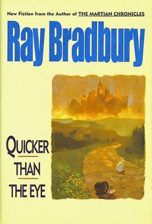Quicker Than the Eye - dust-jacket from the first edition