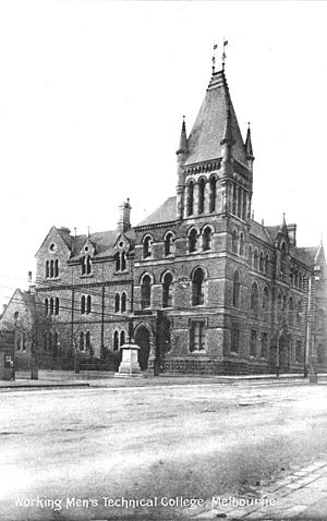 RMIT Melbourne City campus - Building 1 in the 1900s