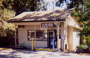 Redwood Estates, California - The Redwood Estates Post Office is a gathering place