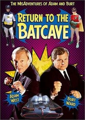Return to the Batcave: The Misadventures of Adam and Burt - DVD cover