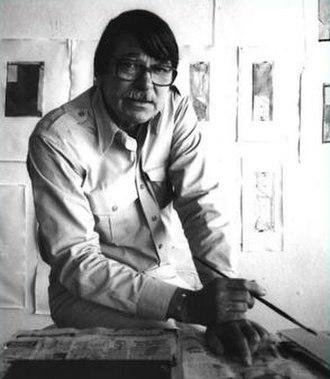 Richard Diebenkorn - Richard Diebenkorn in 1986