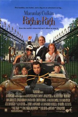 Richie Rich (film) - Theatrical release poster