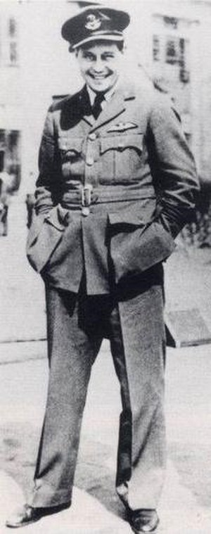 Stalag Luft III - Roger Bushell in his Royal Air Force uniform