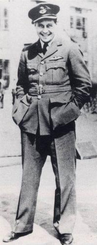 Roger Bushell - Bushell in his RAF uniform shortly before his capture
