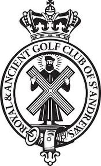 The Royal and Ancient Golf Club of St Andrews - Image: Royal and Ancient Golf Club of St Andrews logo