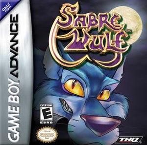 Sabre Wulf (2004 video game) - American box art