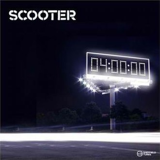 4 AM (Scooter song) - Image: Scooter 40000 single cover