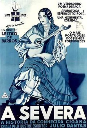 A Severa (film) - Poster for the film