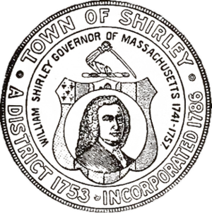 Shirley, Massachusetts - Image: Shirley MA seal