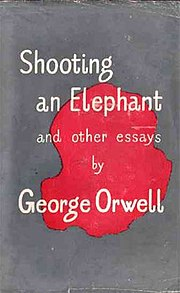 Shooting an elephant wikipedia