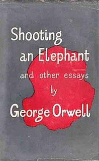Shooting an Elephant essay by George Orwell