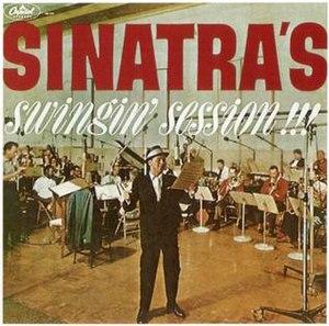 Sinatra's Swingin' Session!!! - Image: Sinatras Swingin Session