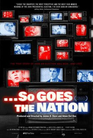 ...So Goes the Nation - Theatrical poster
