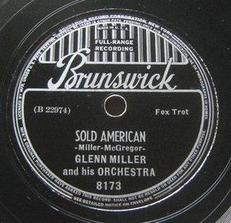Sold American - 1938 Brunswick 78, 8173.