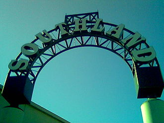 Southland Mall (Hayward, California) - Entrance Arch