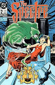 The Spectre and Madame Xanadu on the cover of Spectre v2, #2. Art by Gene Colan.