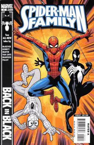 The Amazing Spider-Man Family - Image: Spiderman family 01
