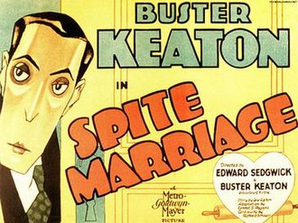 Spite Marriage - Theatrical poster