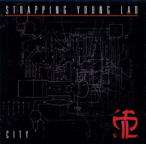 City (Strapping Young Lad album) - Image: Strappingyoungladcit y