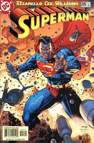 Alex Sinclair - Image: Superman 205