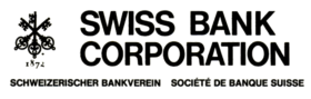 Swiss Bank Corporation logo (ca. 1973)