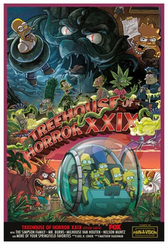 Treehouse of Horror XXIX - Promotional poster