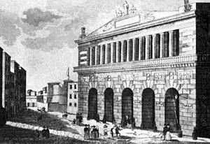 Eugenia Tadolini - The Teatro San Carlo in Naples as it looked during the time that Tadolini sang there.