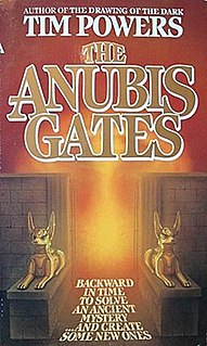 <i>The Anubis Gates</i> Fantasy novel by Tim Powers