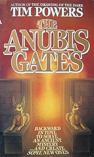 The Anubis Gates - Cover of first edition (paperback)