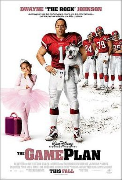 Picture of a movie: The Game Plan