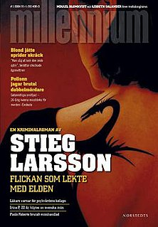 <i>The Girl Who Played with Fire</i> 2006 Book by Stieg Larsson