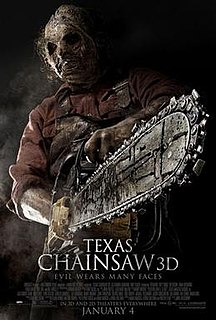 <i>Texas Chainsaw 3D</i> 2013 film by John Luessenhop