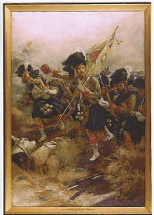 The Charge of the 93rd Sutherland Highlanders, Indian Mutiny Nov 1857.jpg