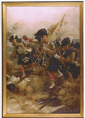 George Stewart (VC) - The Charge of the 93rd Highlanders, November 1857
