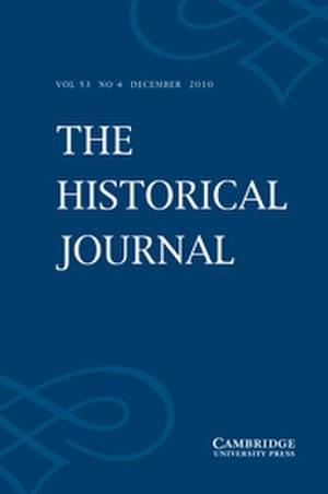 The Historical Journal - Image: The Historical Journal