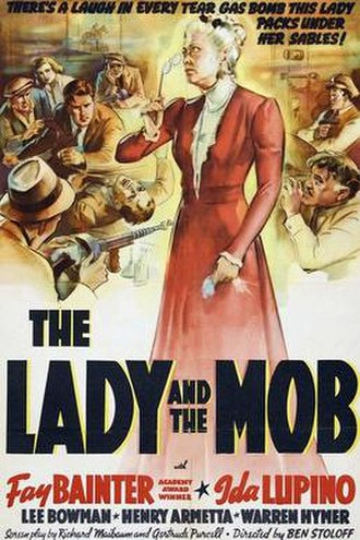 The Lady and the Mob - Theatrical release poster