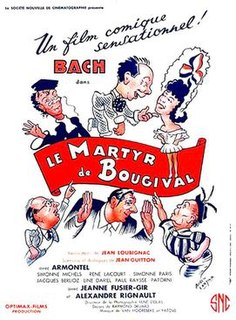 <i>The Martyr of Bougival</i> 1949 film by Jean Loubignac