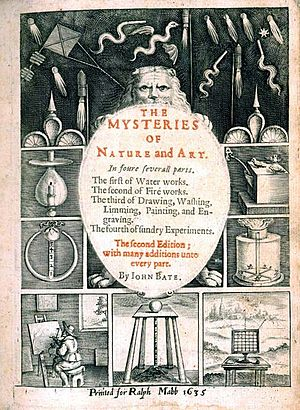The Mysteryes of Nature and Art - Second edition cover