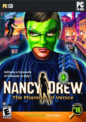 Nancy Drew: The Phantom of Venice - Image: The Phantom of Venice Coverart