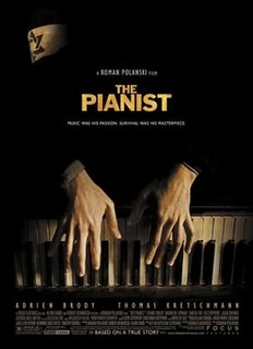 <i>The Pianist</i> (2002 film) 2002 biographic film on the Warsaw Ghetto directed by Roman Polanski