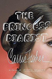 <i>The Princess Diarist</i> book by Carrie Fisher