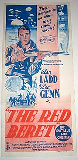 <i>The Red Beret</i> 1954 film by Terence Young